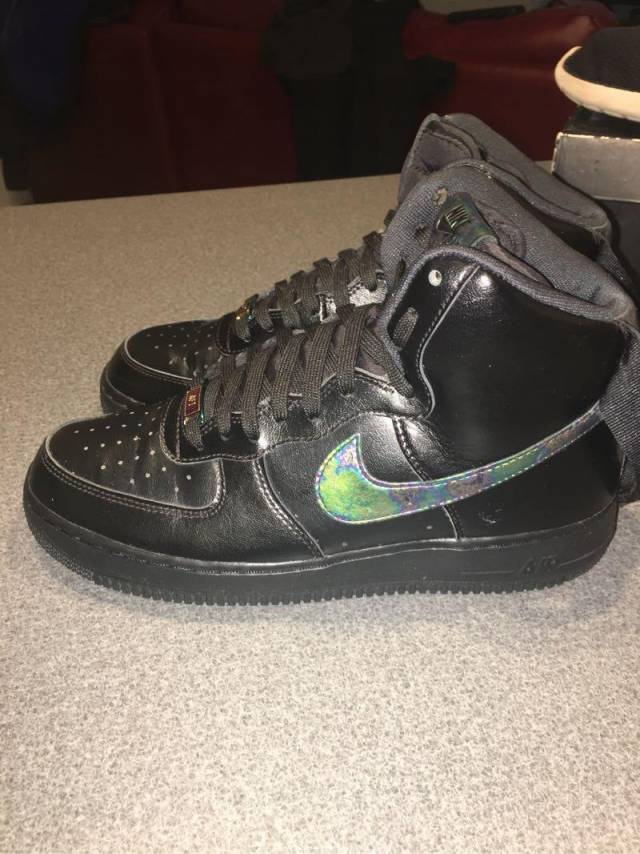 Air Force 1 High Black/Multicolor