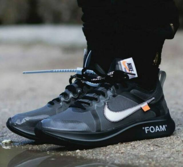 OFF-WHITE X Nike Zoom Fly SP Black Size
