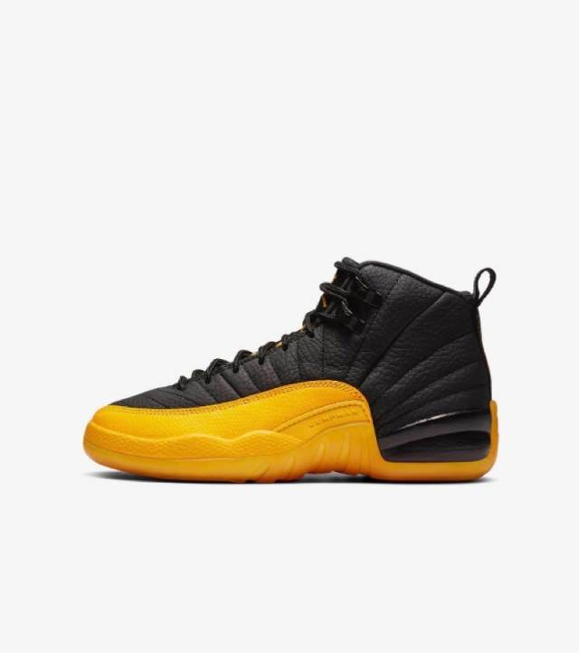 Air Jordan 12 Retro University Gold Black Gs Kixify Marketplace