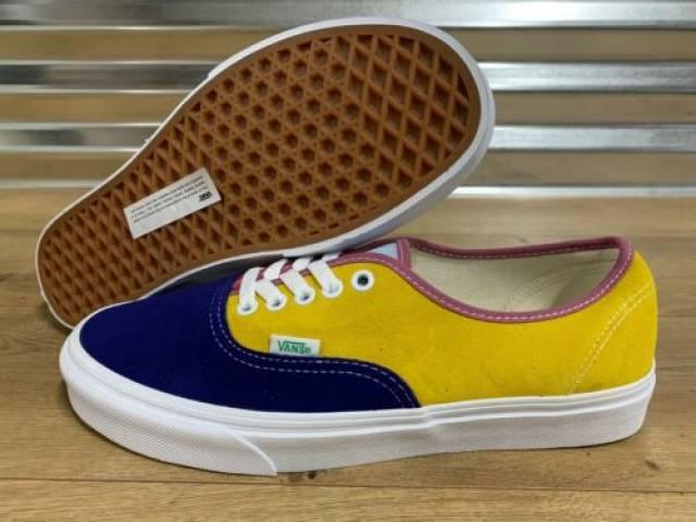 Vans Authentic Skate Shoes Sunshine