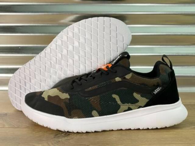 Vans Cerus RW Shoes Mixed Camo Black