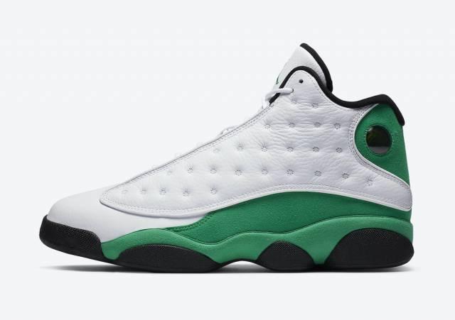 Air Jordan 13 Retro Lucky Green New