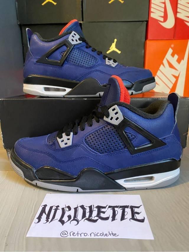 Air Jordan 4 Gs Wntr Loyal Blue