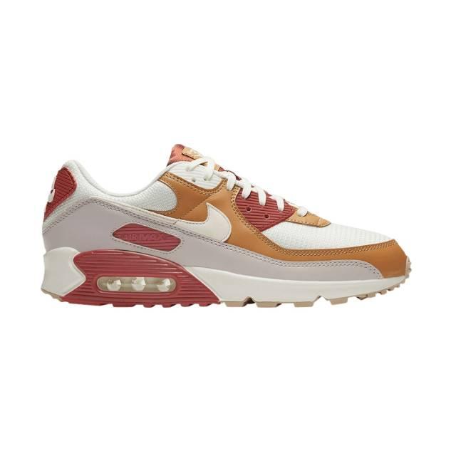 Nike Air Max 90 (rugged Orange/ Wheat Brown/ Sail/ ...