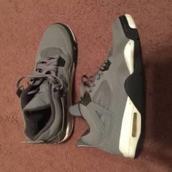 c585a40c0ff174 Shop  Air Jordan 4 Cool Grey