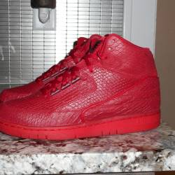Nike air python  gym red