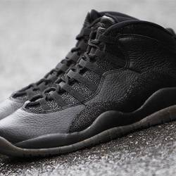 Air jordan 10 retro ovo black ...