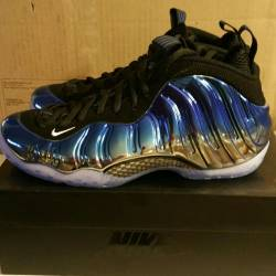 Nike foamposite blue-chrome