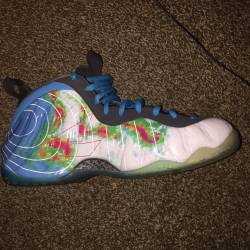 Nike weatherman foamposite one
