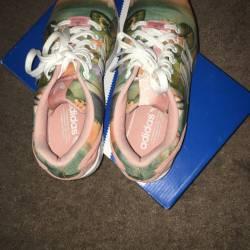 Adidas zx flux w dust pink