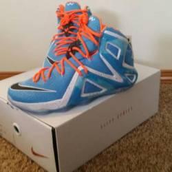 Lebron xii 12 elite (blue)