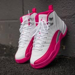 Nike air jordan 12 pink valent...