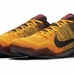 Nike kobe 11 ix low elite bruc...
