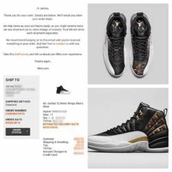 brand new 4f979 d56b1 ... 1,350 Nike air jordan 12 retro wings ...