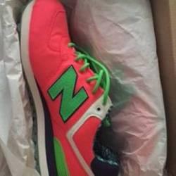 New balance 574 - luau pink gr...