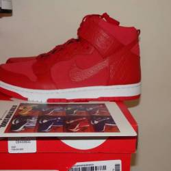 Nike dunk sb cmft prm gym red ...