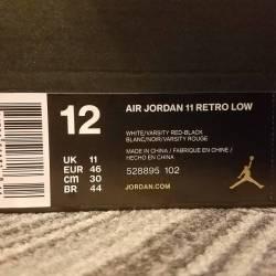Air jordan cherry 11 low