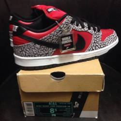 Nike sb x supreme dunk low sz8 5