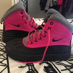Pink acg boots