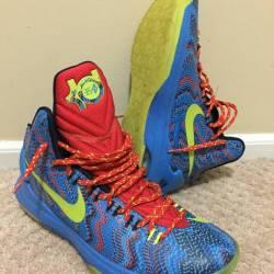 Nike kd 5 'christmas' sz 9.5