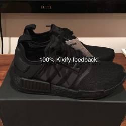 Adidas nmd r1 core black tripl...