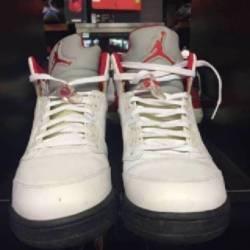 Jordan 5 fire red size 13 pre ...