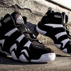 Adidas crazy 8 black and white