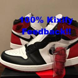 Air jordan 1 og black toe 2016