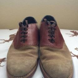 Dexter saddle dress shoes