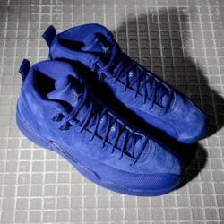 Air jordan 12 retro deep blue