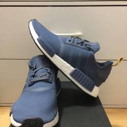 Adidas nmd r_1 blue yellow whi...