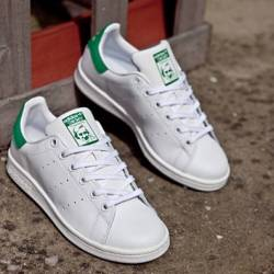 Adidas stan smith white green ...