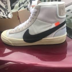 Nike blazer mid off white sz 1...