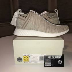 All White NMD Review On Foot