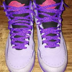 Air jordan retro 2 purple iron...
