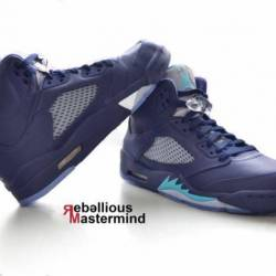 Air jordan 5 retro pre-grape