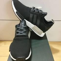 Adidas nmd r_1 core black tan ...