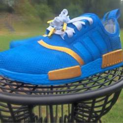 Adidas nmd true blue custom