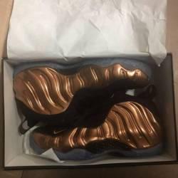 Air foamposite one copper
