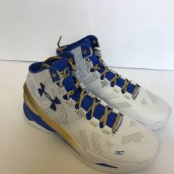 Under armour curry two - gold ...