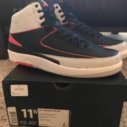 Jordan 2 retro infrared cement