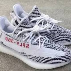 BLACK RED YEEZY BOOST 350 V2 INFANT ZEBRA OREO BRED