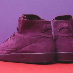 Air jordan 2 decon bordeaux