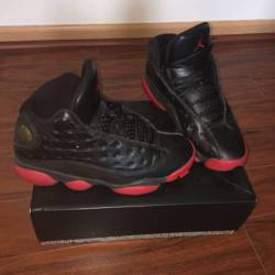 Air jordan 13 - black  gym red