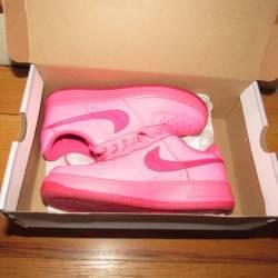Pink womens kids af1