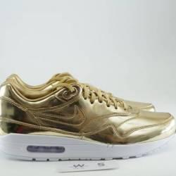 """Nike air max 1 premium id """"gol..."""