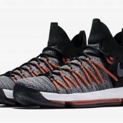 Nike kd 9 elite orange black w...