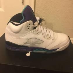 Jordan retro 5s grapes