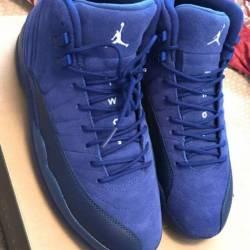 Blue suede 12s
