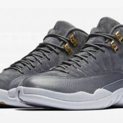 Air jordan 12 retro dark grey ...